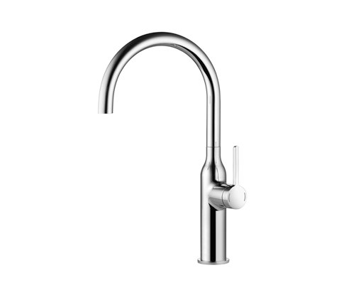 KWC SIN Lever mixer|Swivel spout 160° by KWC | Kitchen taps