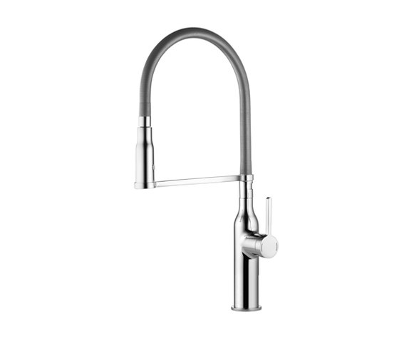 KWC SIN Lever mixer|Spray 360° turn by KWC | Kitchen taps