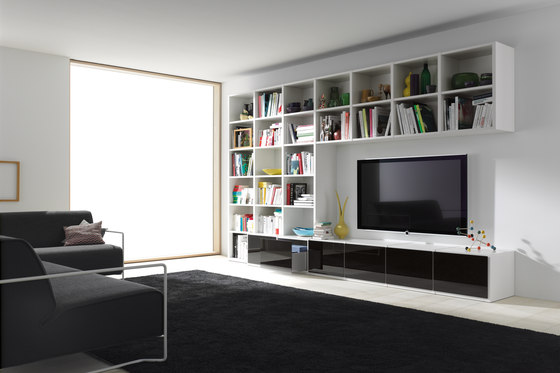 studimo wohnw nde von interl bke architonic. Black Bedroom Furniture Sets. Home Design Ideas