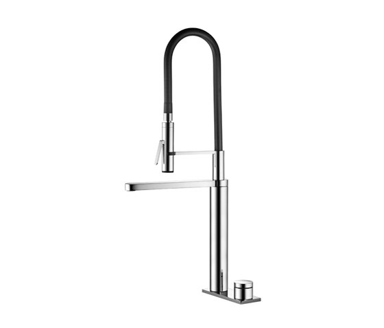 KWC ONO touch light PRO Electronic controlled|Swivel spout 360° by KWC | Kitchen taps