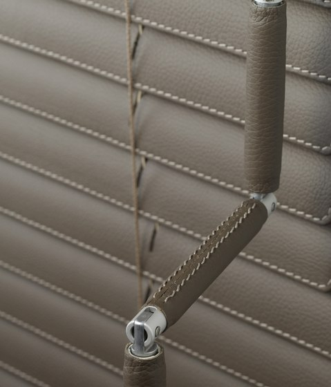 Linea Leder by Lineablinds | Cord operated systems