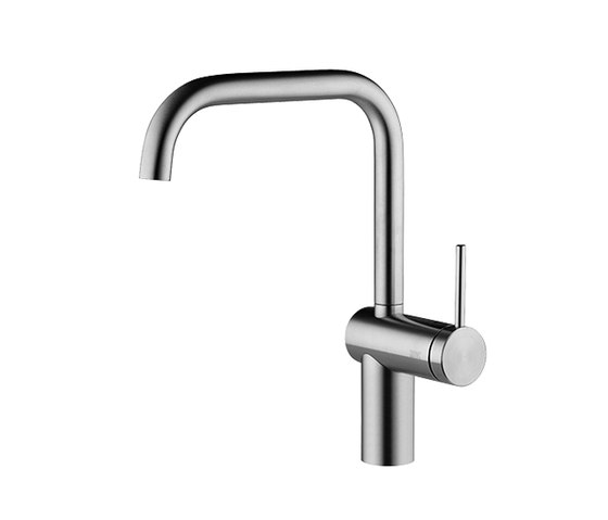 KWC LIVELLO Lever mixer|Swivel spout 160° by KWC | Kitchen taps