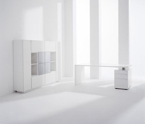 M - Desk by Hund Möbelwerke | Individual desks