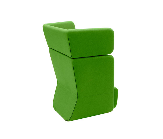 Basket chair high di Softline A/S | Poltrone lounge