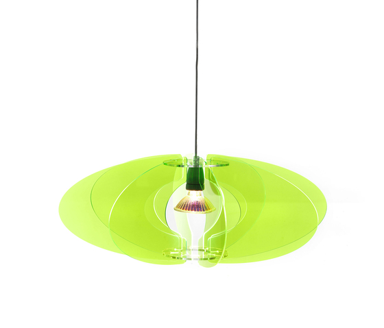 Blossom Pendant 65 Green neon 019 by Bsweden | General lighting