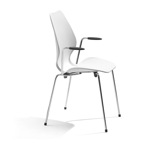 City Chair di Fora Form | Sedie visitatori