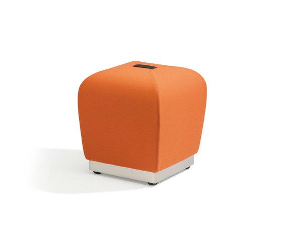 Misto - orange by Fora Form | Poufs