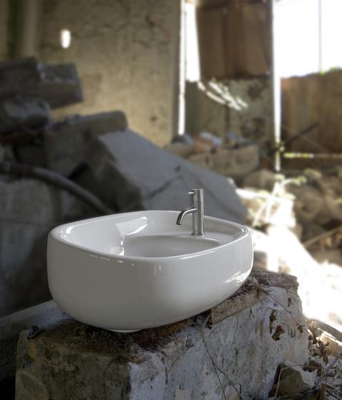 Abol Washbasin 54 by antoniolupi | Wash basins