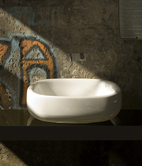 Abol Washbasin 70 by antoniolupi | Wash basins