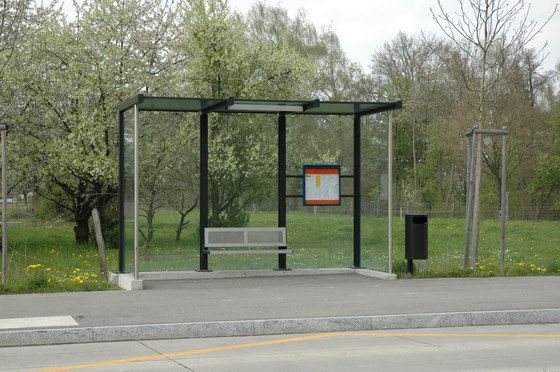 Bus Shelters by BURRI   Bus stop shelters