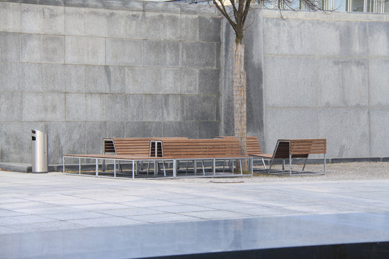 Landscape Configurations in NATWOOD by BURRI | Exterior benches