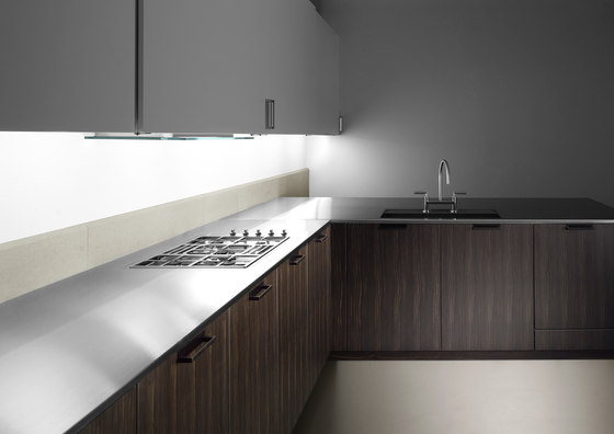 Ebonysystem | cucina 1 by ABC Cucine | Fitted kitchens
