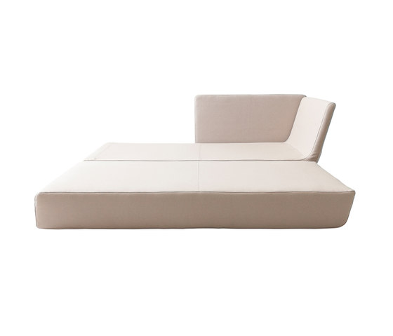 Lounge chaise long by Softline A/S | Sofa beds