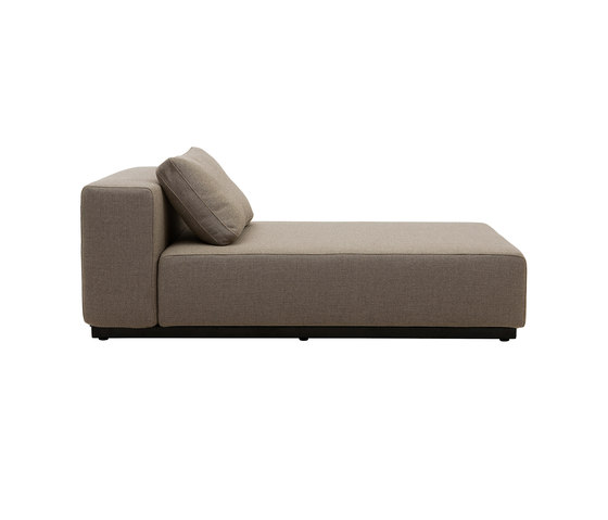 Nevada chaise long sofa beds from softline a s architonic for Chaise long sofa