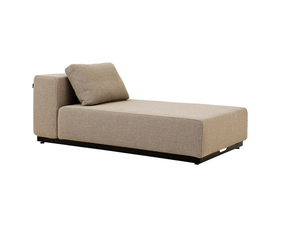 Nevada chaise long sofa beds by softline a s architonic for Chaise long sofa bed