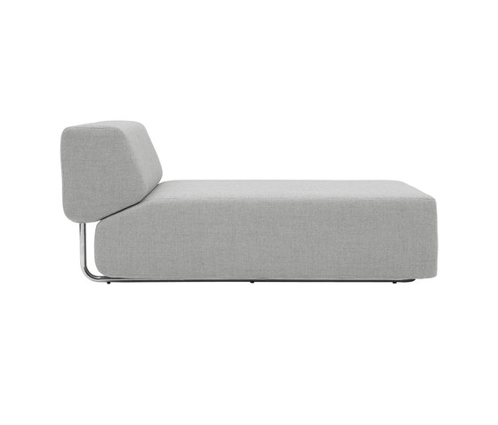Noa chaise long by Softline A/S | Modular seating elements