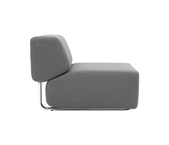 Noa single by Softline A/S | Modular seating elements