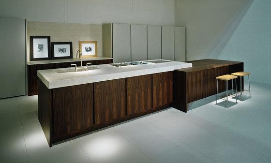 Lacquersystem | cucina 3 di ABC Cucine | Cucine a parete