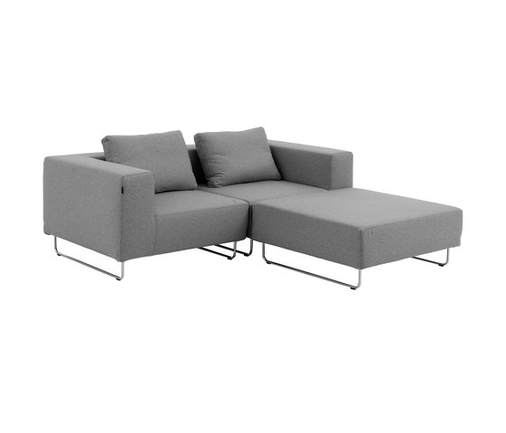 Ohio sofa by Softline A/S | Modular seating systems