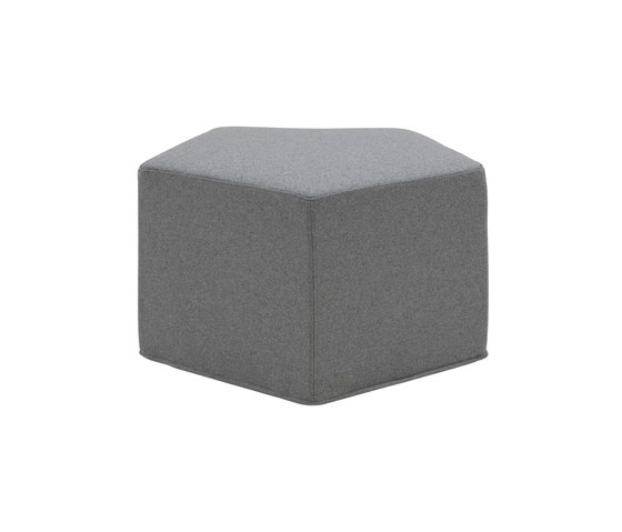 Pause pouf by Softline A/S | Modular seating elements