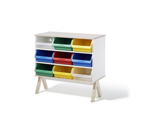 Famille Garage sideboard di Richard Lampert | Children's area