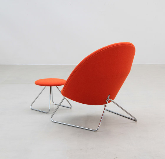 Dennie Chair with Footstool de onecollection | Sillones lounge