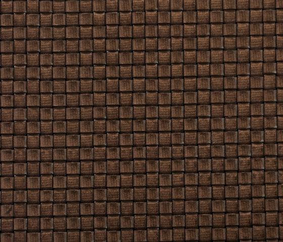 Basketweave 768 | marrón 593 von Naturtex | Wandtextilien
