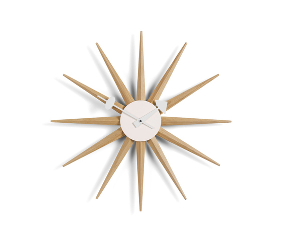 Sunburst Clock by Vitra | Clocks