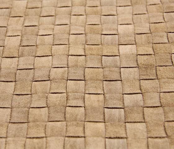 Basketweave A-1426 | beige de Naturtex | Cuir