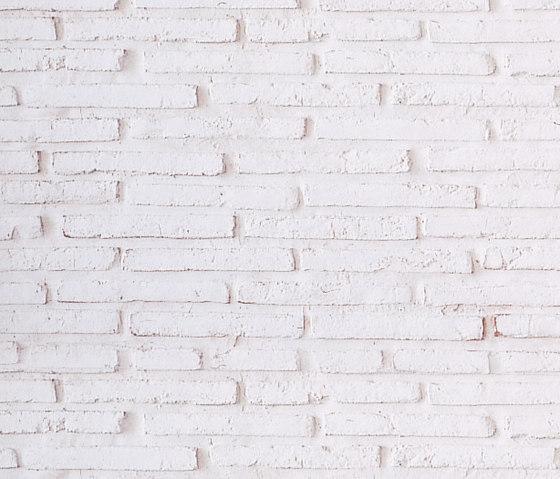 MSD Ladrillo vertical blanco 106 von StoneslikeStones | Verbundplatten/Verbundscheiben