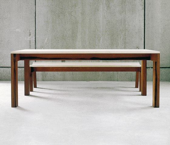 Sole table & bench by Redwitz | Tables and benches