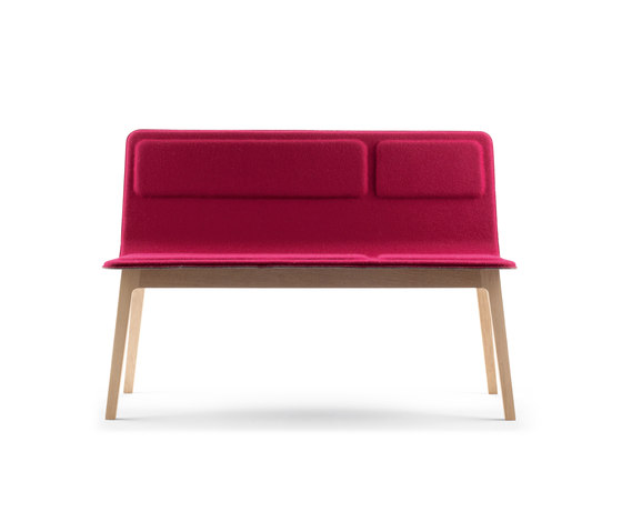 Laia Bench by Alki | Waiting area benches