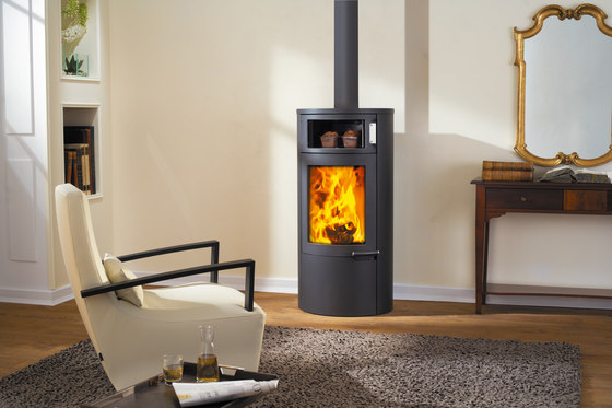 Uno Back by Austroflamm | Wood burning stoves