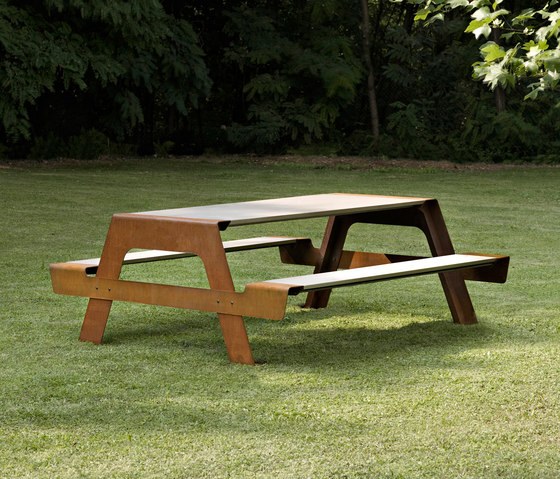Pic-Nic by De Castelli | Tables and benches