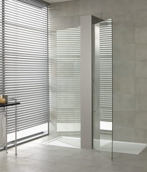 Squaro Walk-In Shower enclosure by Villeroy & Boch | Shower screens