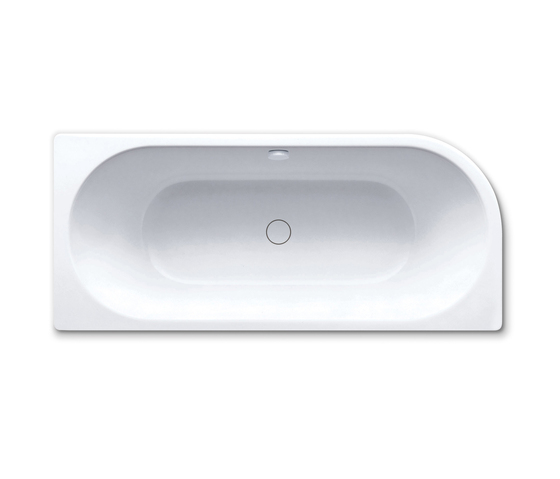 Centro Duo 1 left Bathtub by Kaldewei | Built-in bathtubs