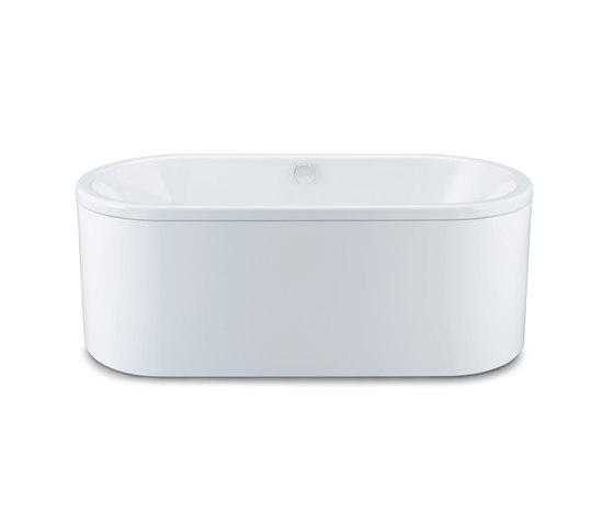 Centro Duo Oval Bathtub by Kaldewei | Built-in bathtubs
