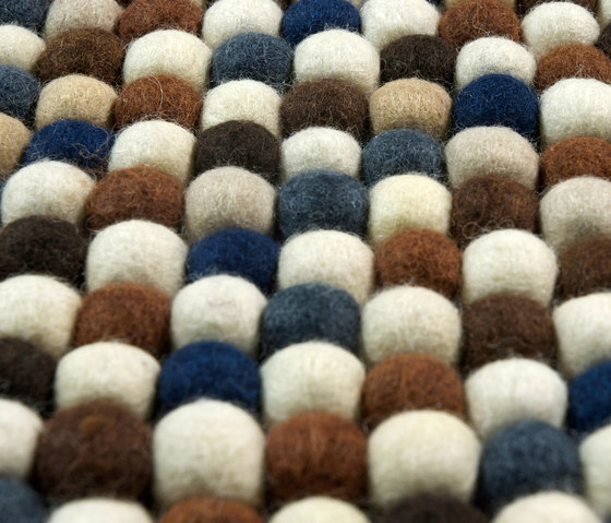 Canicas | gris de Naturtex | Alfombras / Alfombras de diseño