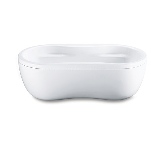 Mega Duo Oval with panel by Kaldewei | Free-standing baths