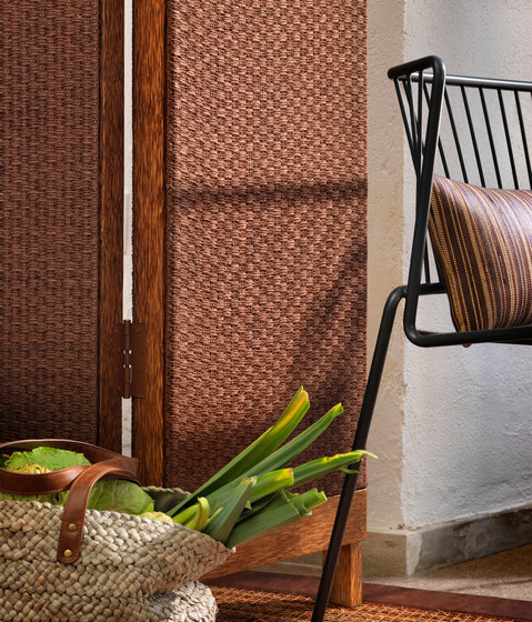 Nature Sense E-1383 | marrón by Naturtex | Wall fabrics