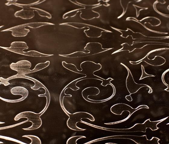 Effects E-1715 | arabesque piombo by Naturtex | Wall fabrics