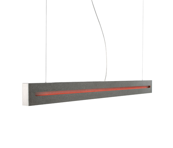 Concrete by tossB | Pendant strip lights