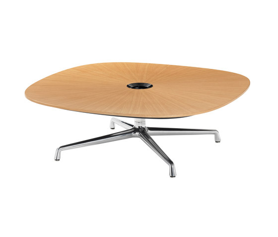 Sw 1 occasional table by coalesse square round for Occasional table manufacturers