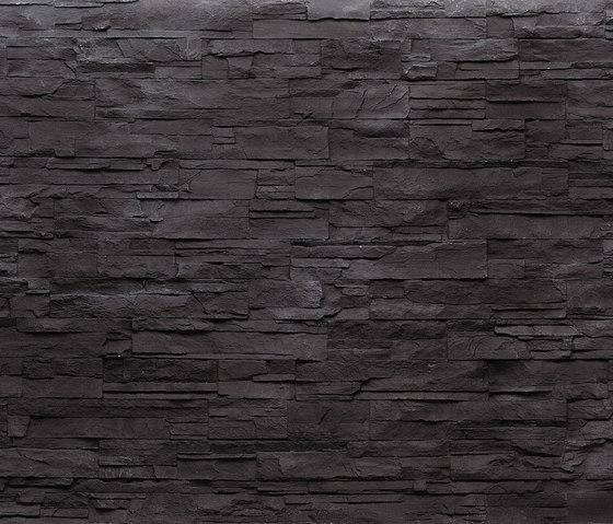 MSD Lascas negra 270 di StoneslikeStones | Lastre in materiale composito