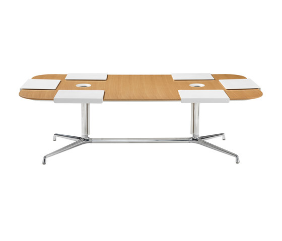 SW_1 Low Conference Table Rectangular di Coalesse | Tavoli conferenza