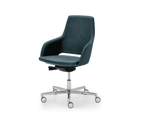 Captain Manageriale by Sinetica Industries | Visitors chairs / Side chairs