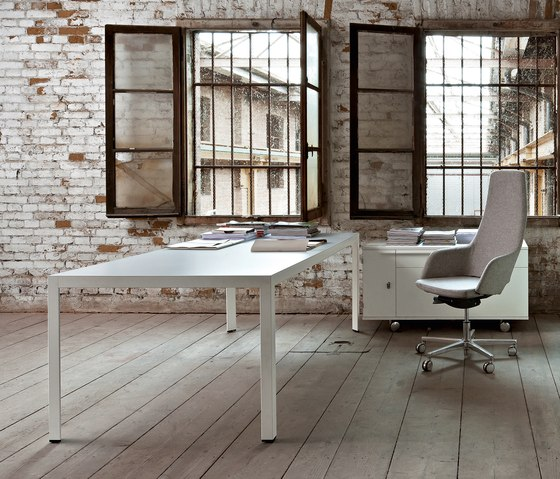 Frame+ Executive by Sinetica Industries | Reading / Study tables