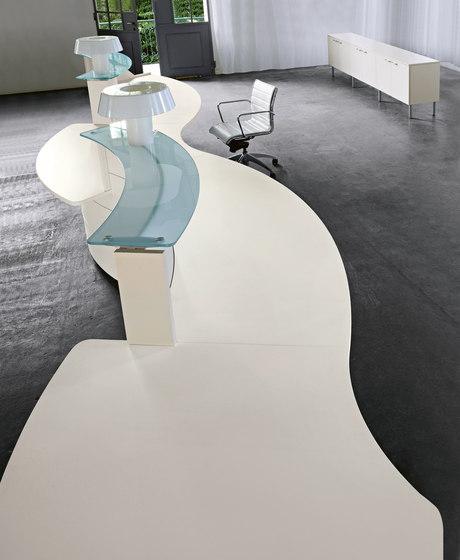Luna by Sinetica Industries   Reception desks