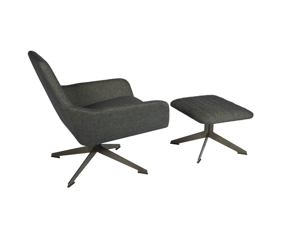 Floyd chair with ottoman di Palau | Poltrone lounge
