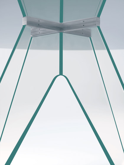 Alister by Glas Italia | Dining tables